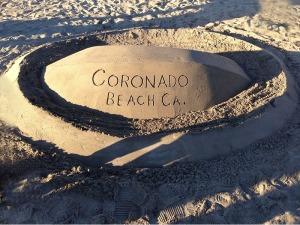 Coronado Sand castle