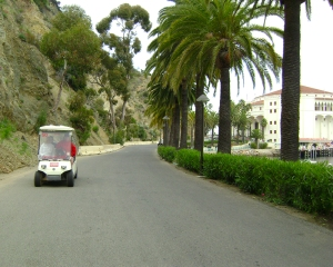 Catalina Golf cart