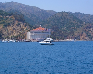 Catalina-Water view of casino