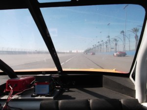 Nascar-View from windwo