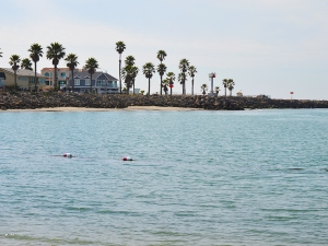 Oxnard by harbor entrance