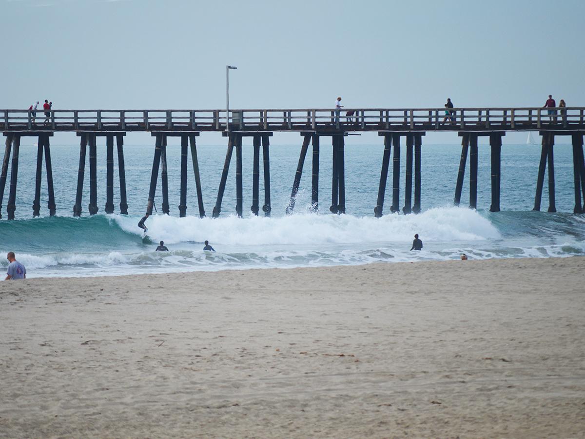 Oxnard port hueneme and ventura staycations california for Ventura pier fishing