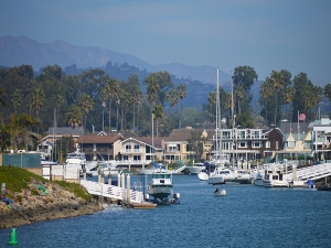 Ventura harbor canal