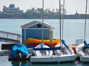 Ventura Harbor kayaks