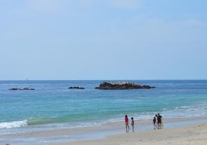 Laguna Rocks on main beach