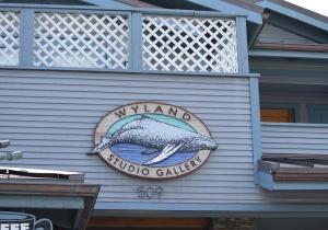 Wyland sign