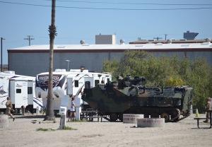 Camp P--Single tank