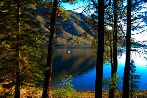 Lower view lake