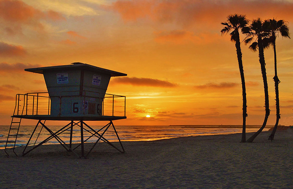 Roberts Cottages In Oceanside And Del Mar Beach Resort On