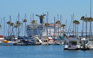 Long Beach Cruise ship