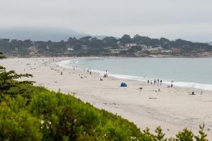 17 mile crowded beach