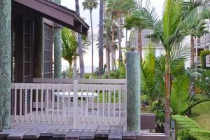 NC Village view of porch