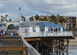 PB cottages view from pier