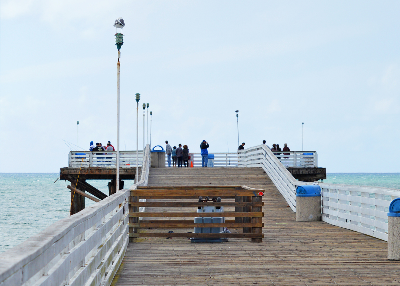 Pacific beach and crystal pier staycations california for Crystal pier fishing