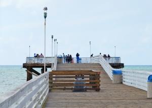 PB pier  the end