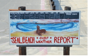 Seal Beach sign