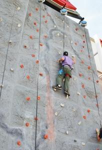 Arlo Rock Climbing