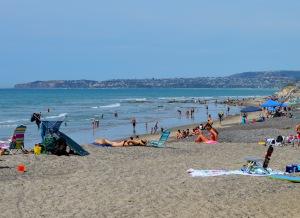 San Clemente Beach looing north
