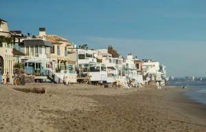 Malibu House on beach 2