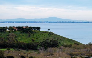 Malibu view from Pepperdine
