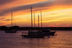 Morro orange sunset G