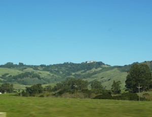 Cambira-Hearst Castle driving by