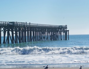 Cambria-The pier