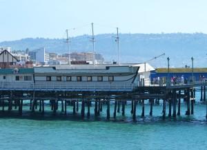 Redondo--Boat restaurant