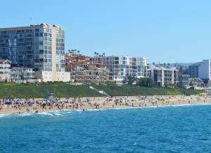Redondo-Hotels on beach