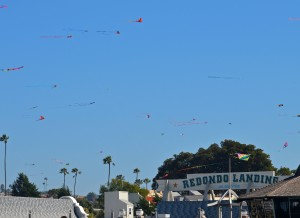 Redondo-Kites in air