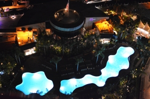 Marriot pool from above