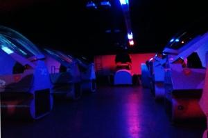 The simulator room
