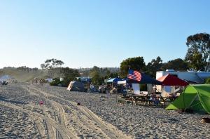 The campsites