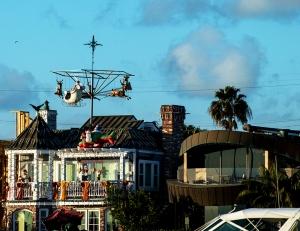 Flying Santas