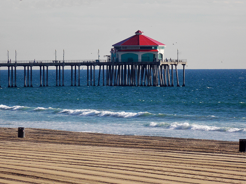 Huntington beach pier ca pictures to pin on pinterest for Huntington beach pier fishing