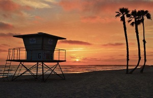 Sunset Lifeguard tower 800 G