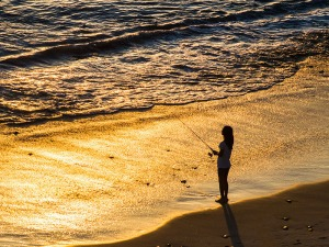 Fishing Girl in thirds 800