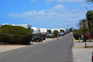 Campsites on oceanside 1