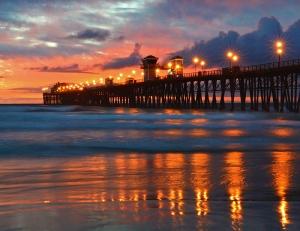 Sunset Oceanside 800