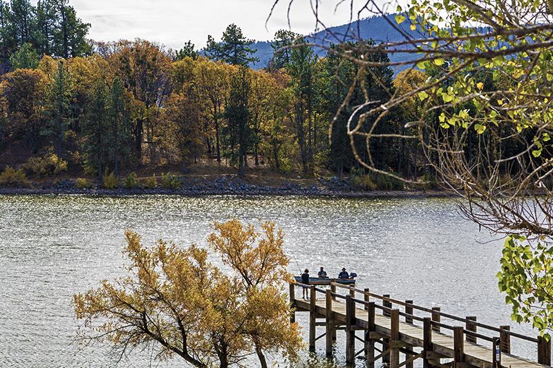 November 2016 staycations california for Lake cuyamaca fishing