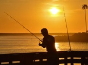Fishing Sunset 800